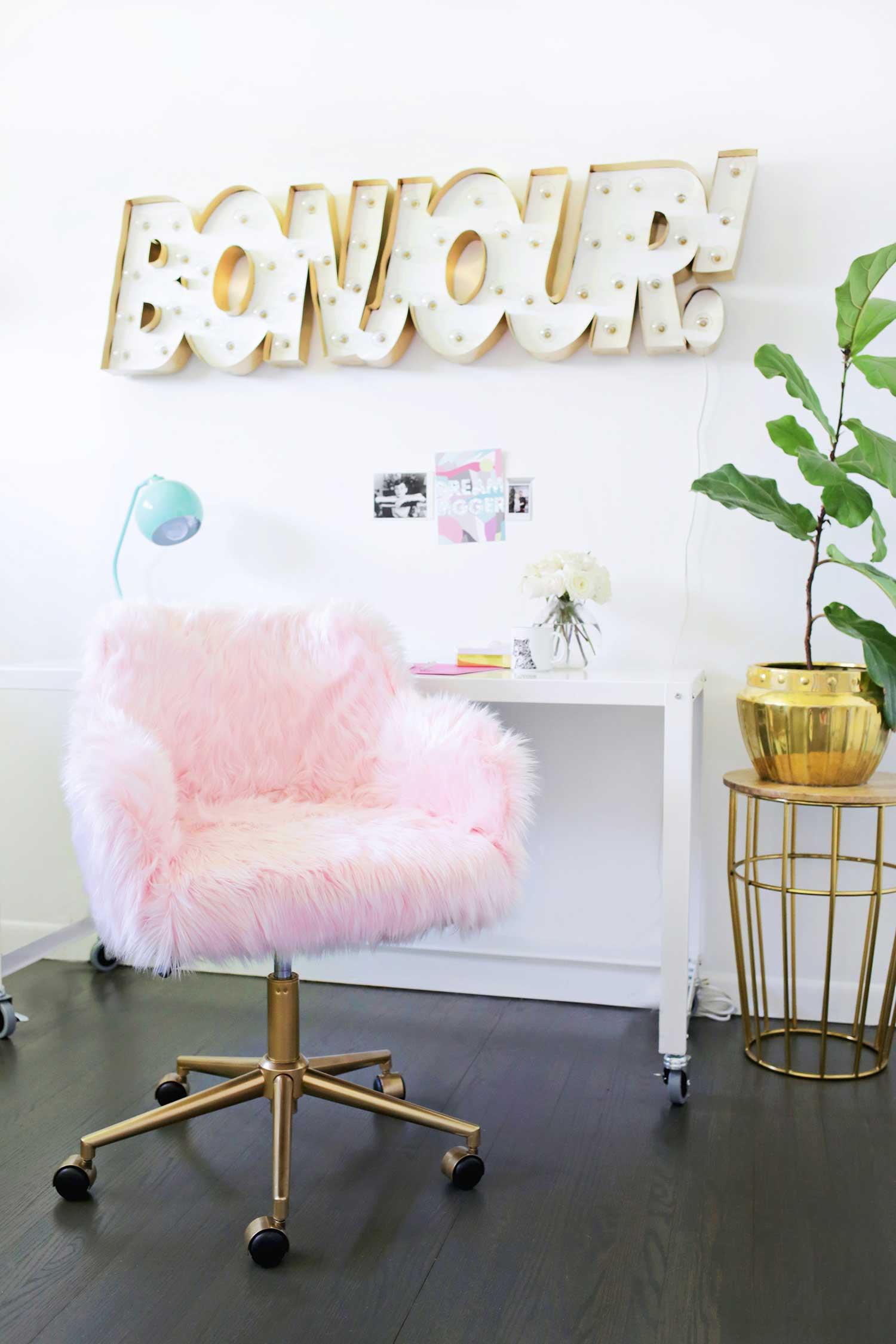 bureaustoel make-over