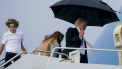 familie trump, donald trump paraplu