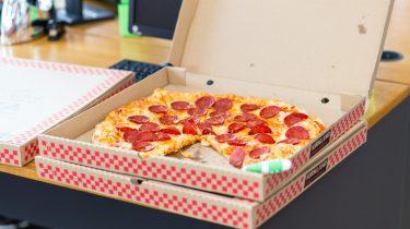pizza als ontbijt