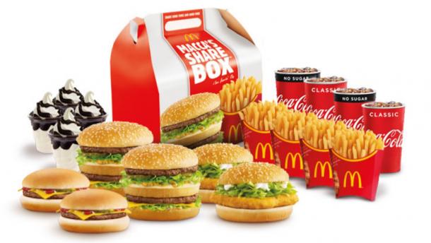 McDonald's Mega ShareBox