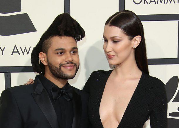 Bella Hadid en The Weeknd