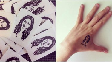 tijdelijke tatoeage