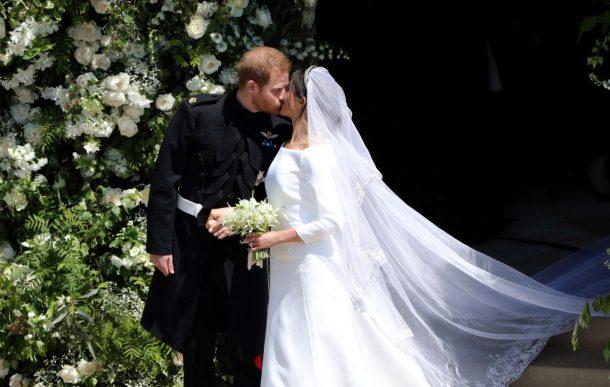 hoogtepunten royal wedding,kus