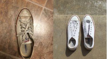 vans schoenen in de wasmachine
