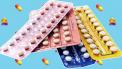 Verschillende strips van de anticonceptiepil, de pil werking wanneer