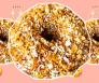 een donug is een combinatie van een donut en een kipnugget