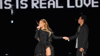 Eerste ontmoeting Beyoncé en Jay-z