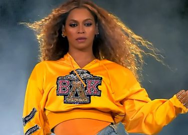 Foto van Beyonce tijdens who, Beyonce balmain samenwerking