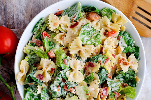 zomerse recepten blt salade