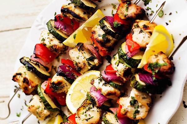zomerse recepten hittegolf kip met kruiden