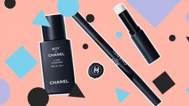 chanel make-up mannen