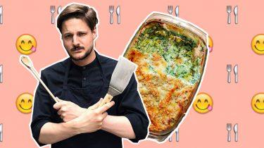 lasagne marks menu