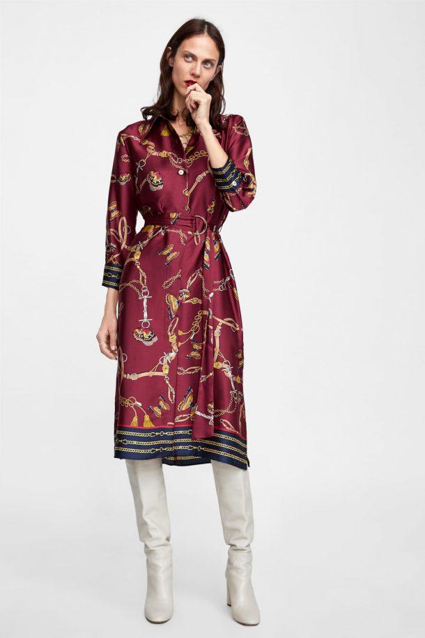 Favoriete Dit zijn de leukste herfstjurkjes van Zara voor aankomend seizoen &OR34