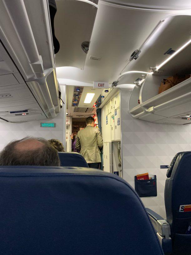 aanzoek vliegtuig