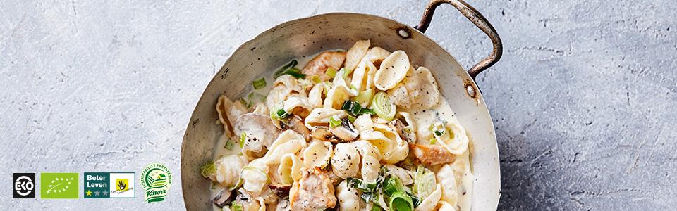 pasta kip gerechten