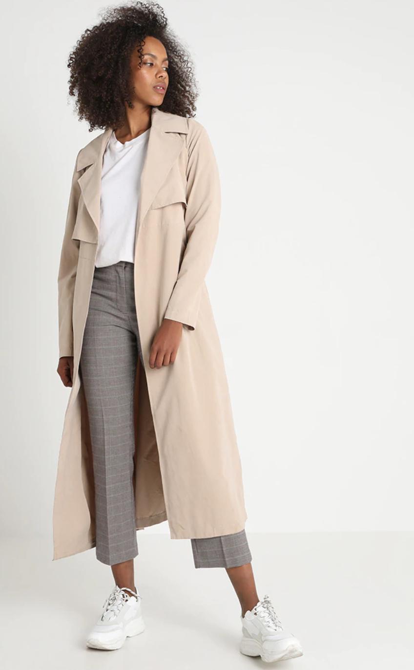 kim kardashian camel coat dupe outfit