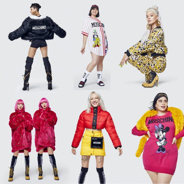 Moschino h&M collectie