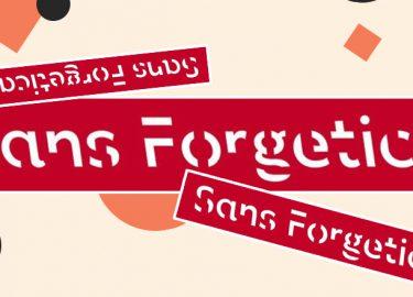 nieuwe lettertype sans forgetica