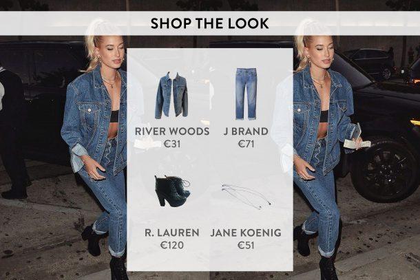 Hailey Baldwin shop the look