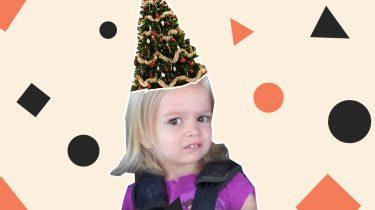 Kersttrui Hem Haar.Je Haren Transformeren In Een Kerstboom Is De Nieuwste Haartrend