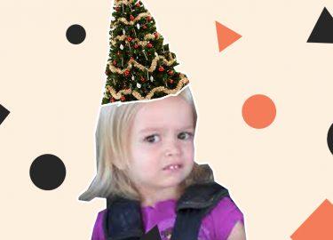 kerstboom haartrend