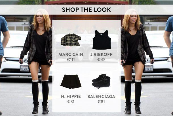 Miley Cyrus shop the look