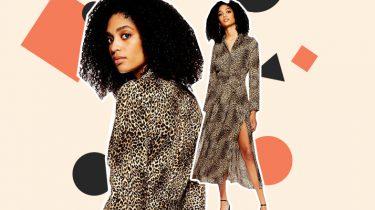 topshop jurkje luipaard