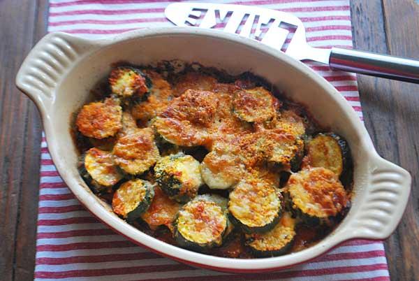 makkelijke recepten met courgette