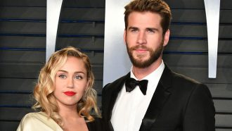 Miley Cyrus Liam Hemsworth getrouwd
