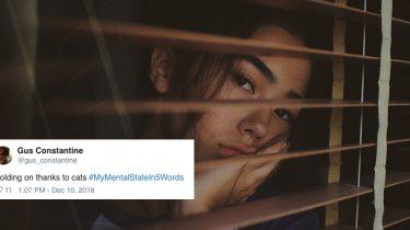 MyMentalStatein5Words, mentale gezondheid twitter hashtag