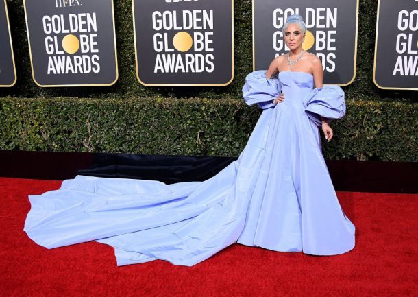 lady gaga golden globes looks 2019