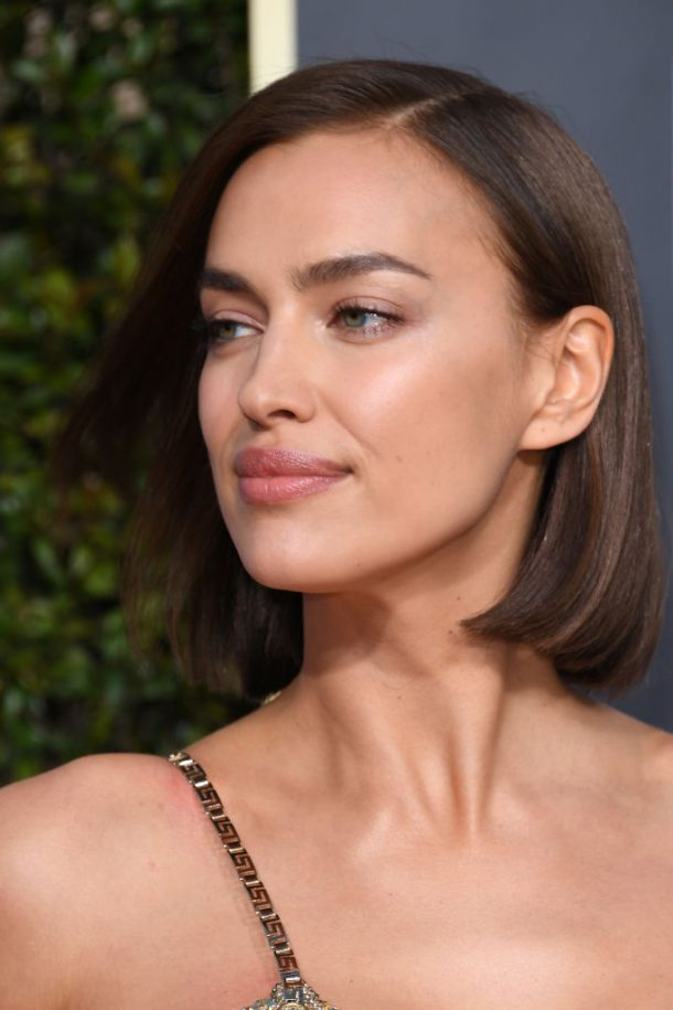 golden globes looks 2019 irina shayk