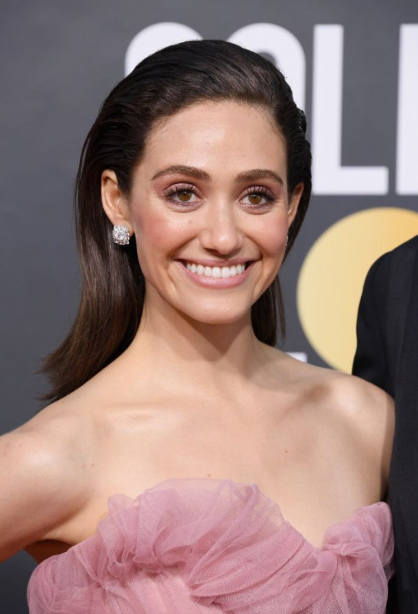 golden globes looks 2019 emmy rossum