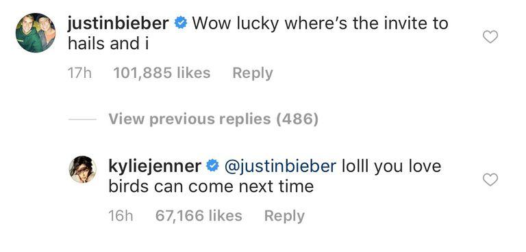 Kylie Jenner Justin Bieber mee op vakantie