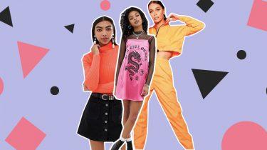 neon kleding items