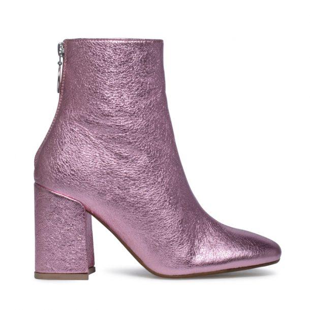 metallic schoenen trend