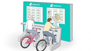 Deliveroo gezond eten bike-in
