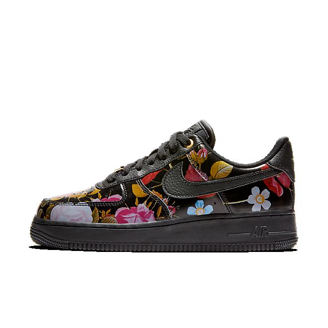 Nike Air Force 1 Black Floral