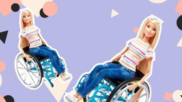 barbie rolstoel prothese nieuw mattel
