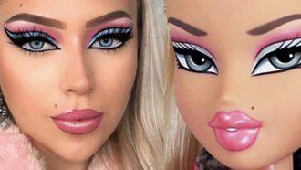 bratz make-up challenge
