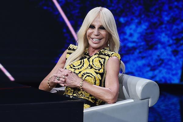 Donatella Versace ontwerpers excentrieke