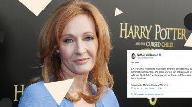 J.K. Rowling plottwist Harry Potter