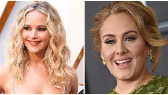 adele Jennifer Lawrence new york