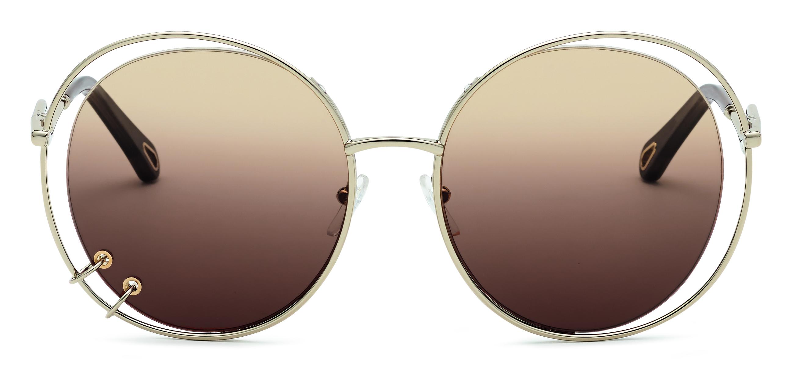 Chloé zonnebril met piercing