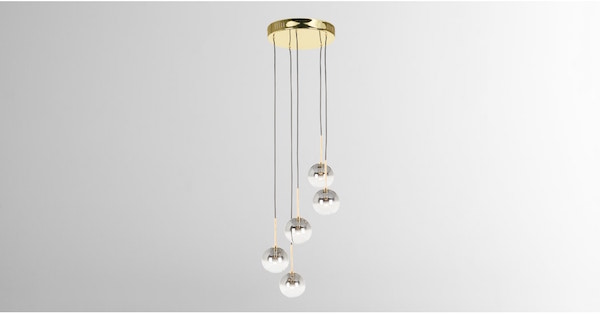 hanglamp kristal Hollywood interieur