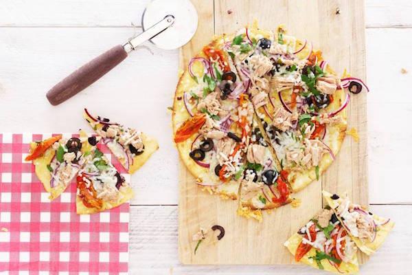 pizza hapjes recepten