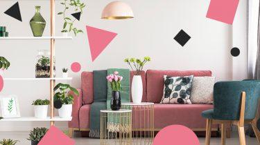 roze bank interieur trend