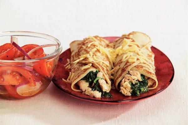 spinazie pannenkoek recepten