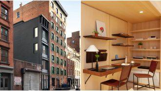 klein huis new york interieur
