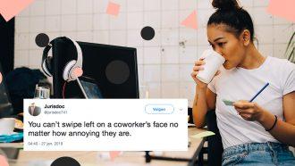 irritante collega's tweets